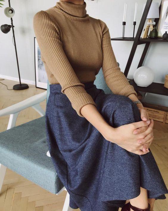 Стильный минимализм в образах 1 #modeststyle