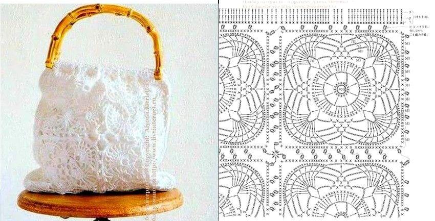 Pin de maria en Ganchillo | Pinterest | Croché, Bolsos en crochet y ...