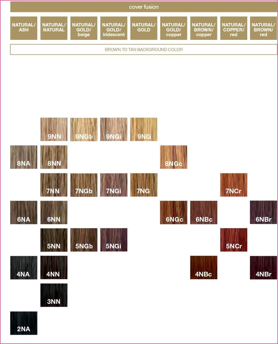 Nett Redken Fusion Color Chart Redken Color Redken Fusion Colors