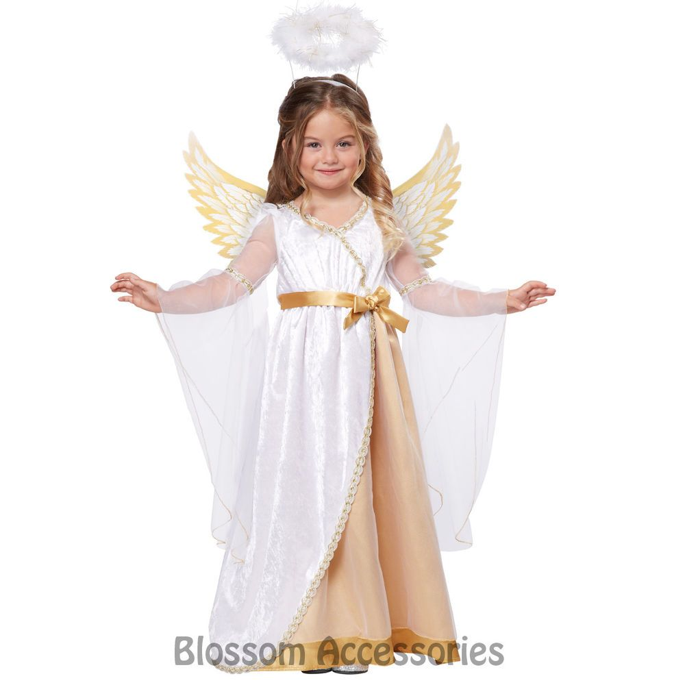 Christmas Sweet Little Angel Toddler Child Costume