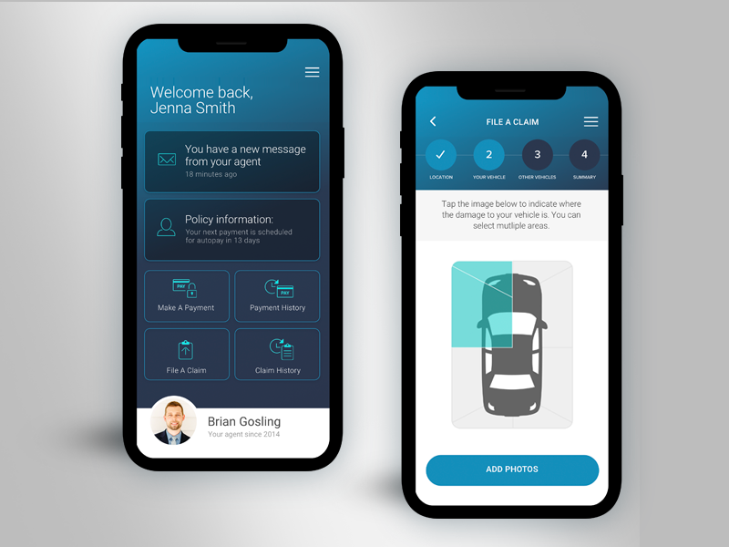 Image Result For Car Insurance App Dashboard Car Insurance