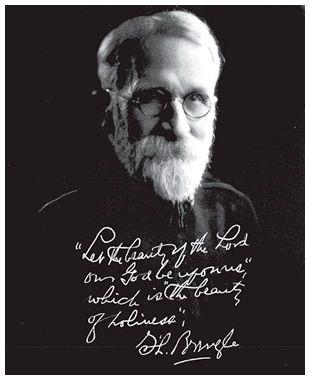 Samuel Logan Brengle...a man of God; a man of holiness ...