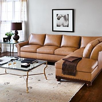 Bloomingdale 39 S Echo Park Sectional Sofa Bloomingdale 39 S For The Home Pinterest Nail Head