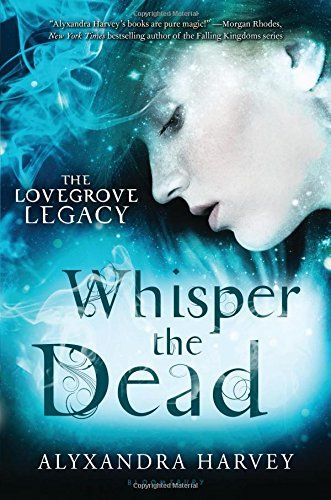 Whisper the Dead (The Lovegrove Legacy) by Alyxandra Harvey.  Cousins Gretchen, Emma, and Penelope are all dealing with what it means to be a Lovegrove. For Gretchen, it means she often feels like her head is going to explode. As a Whisperer, Gretchen constantly hears the whispers of other witches' spells.  The incessant buzzing and pain the whispers cause makes it difficult to use her gift.  But when evil becomes a menace to her community she has to find a way to master her powers.