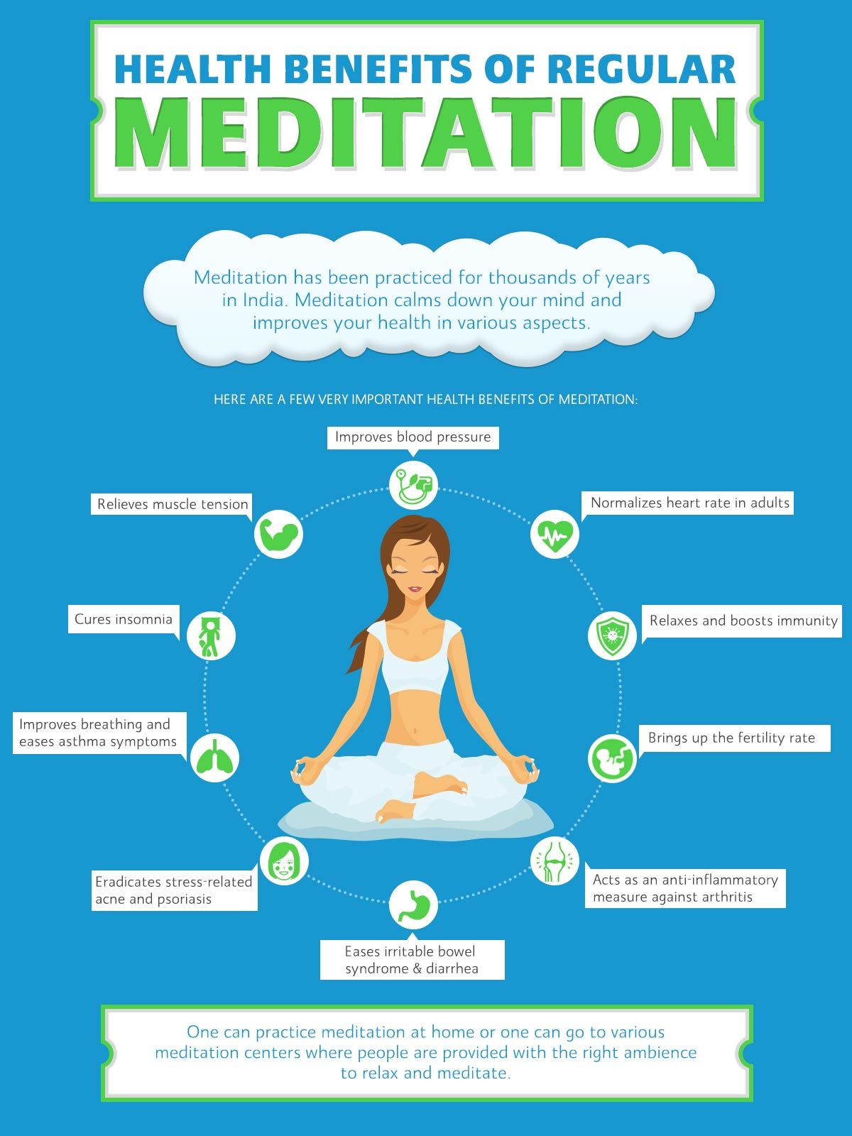 Check Out The Different Health Benefits Of Regular Meditation With