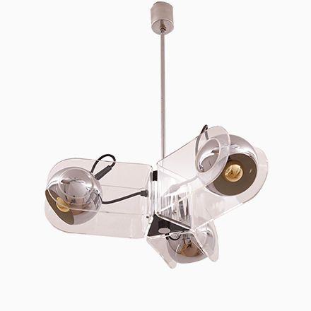 Vintage Modell 540 Deckenlampe von Gino Sarfatti für Arteluce - deckenleuchten für badezimmer