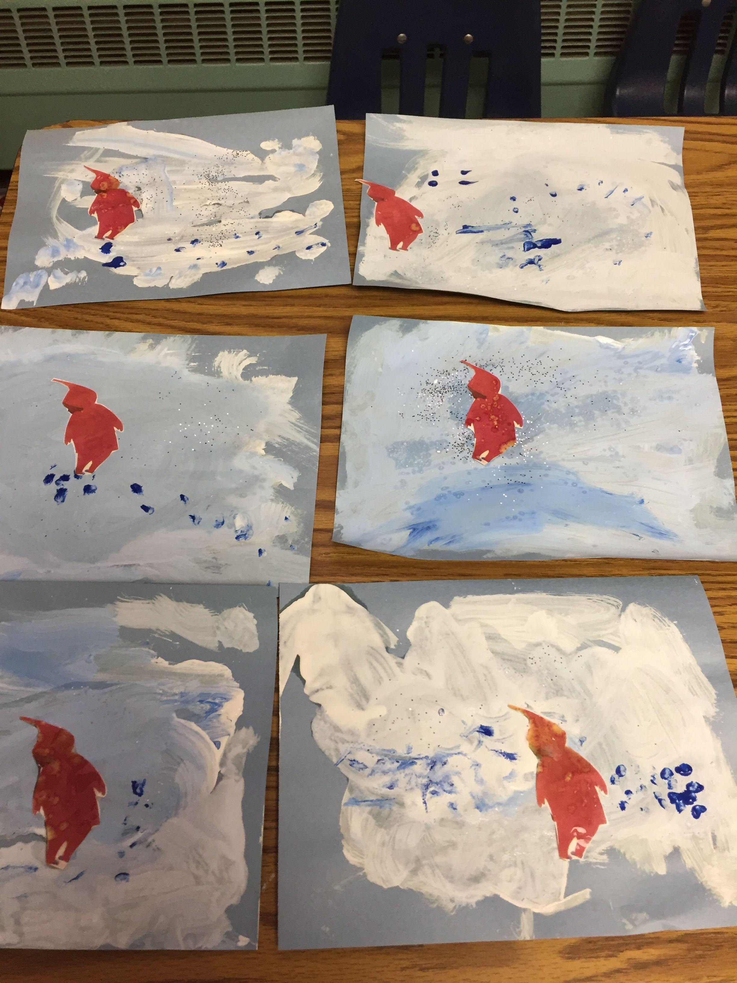 Snowy Day Extension Activity Preschool