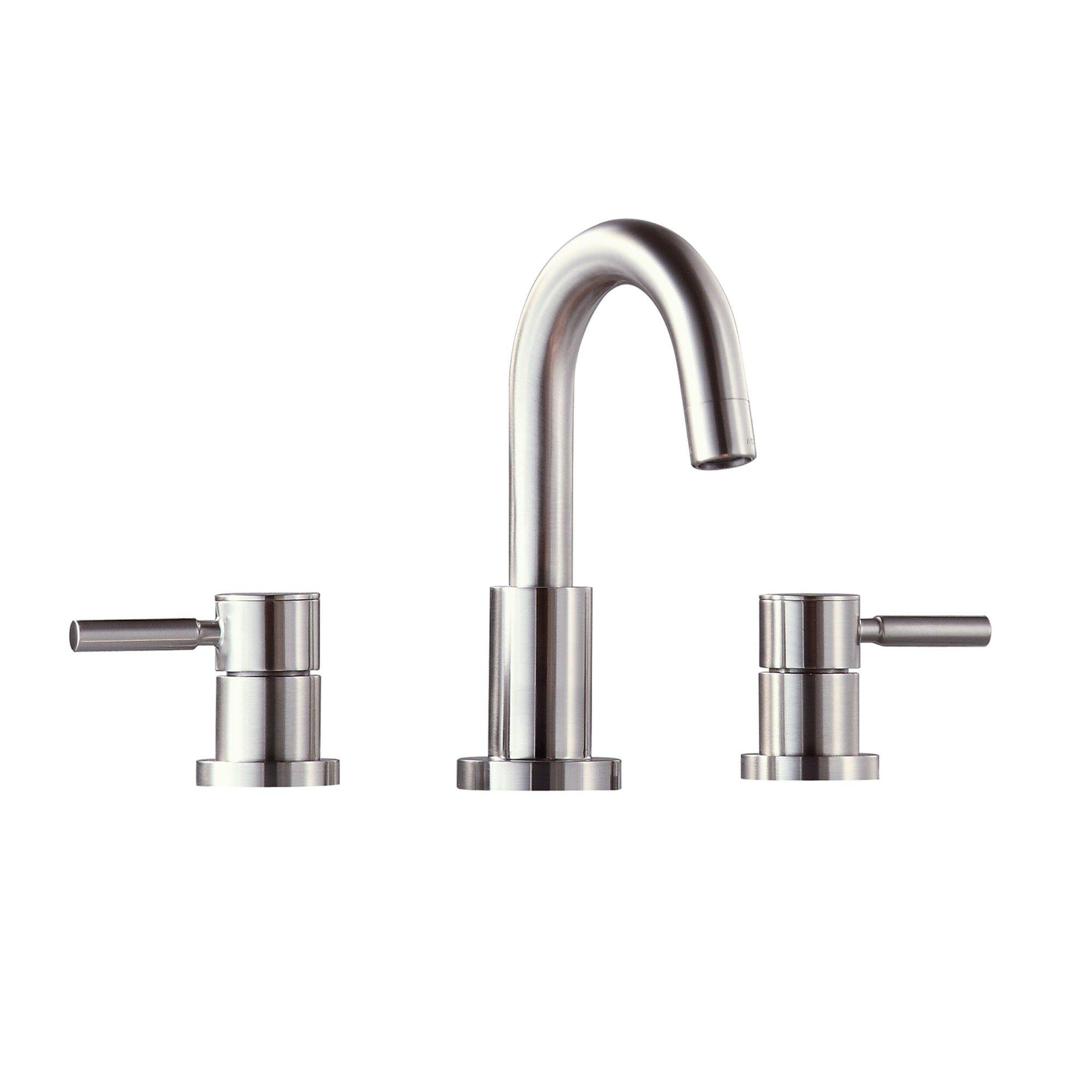 Avanity FWS1501BN Positano Widespread Two Handle Bath Faucet With ...