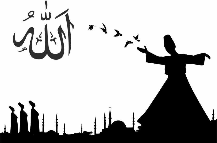 Islamic Wall Decal Sticker Free Vector Islamic Art Calligraphy Islamic Paintings Arabic Calligraphy Art