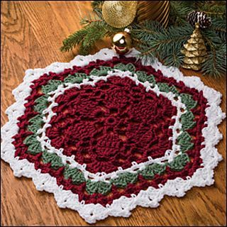 Decorative Doily [CROCHET FREE PATTERNS - Her Crochet #crochetdoilies