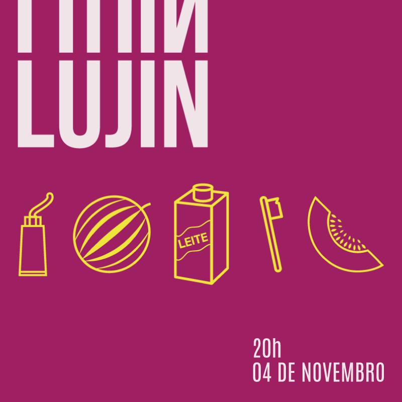 Lujin Facebook Card #Teatro #design #identidadevisual #Performance #VisuaIdentity #GraficDesign