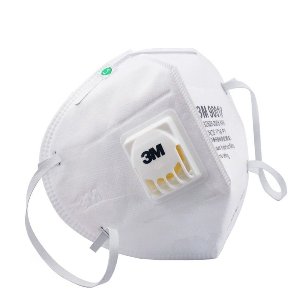 3m 9001v Kn90 Vent Anti Dust Masks Anti Pm2 5 Industrial