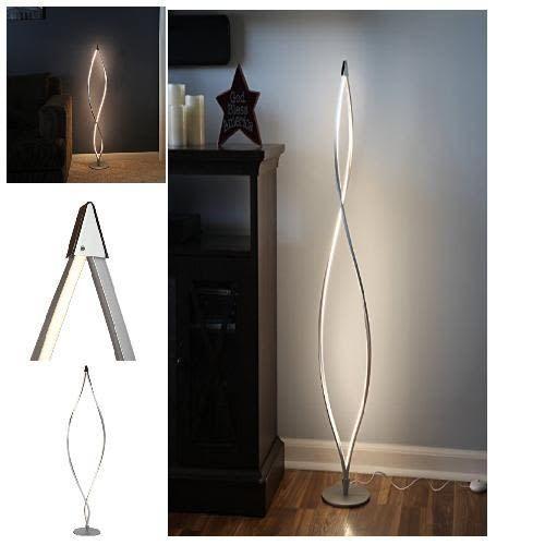 Led Floor Lamp Modern Decorative Light 16 Watt Dimmer Switch 920