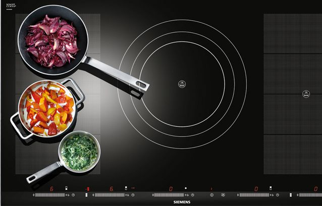 Siemensu0027 red dot success Siemensu0027 flexinduction cooktop receives