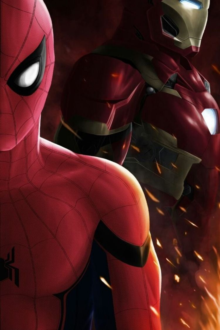 Get Our Best DUO Of Ironman And Spiderman