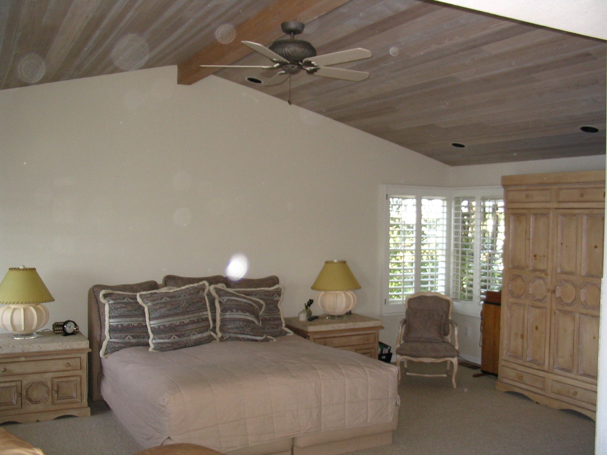 White Washed Cedar Ceiling White Wash Floor Coverings Home