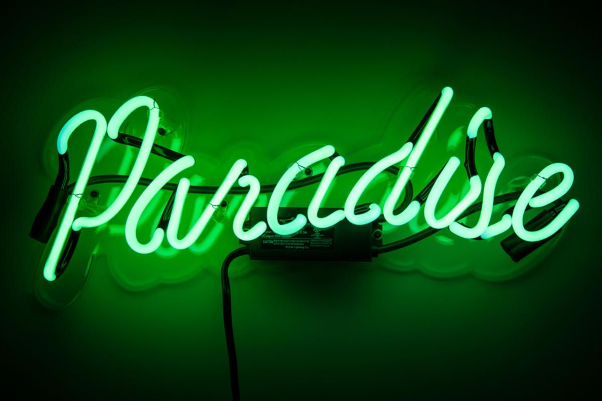 Neon MFG Paradise Neon signs, Green aesthetic, Neon