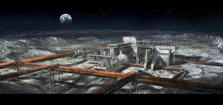 moon base space engineers - photo #12