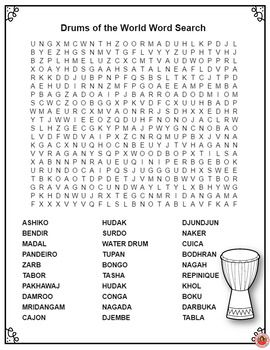 Ambitious image with regard to music word searches printable