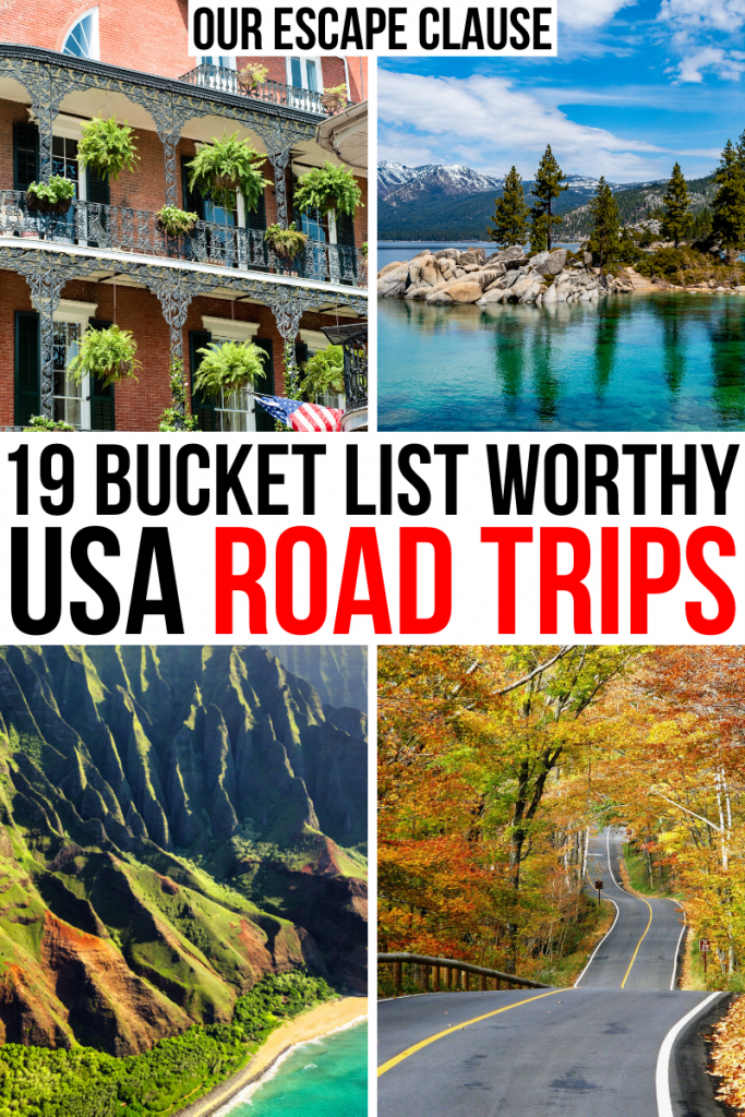 19 Best Road Trips in the USA (Itinerary Ideas + Tips!)