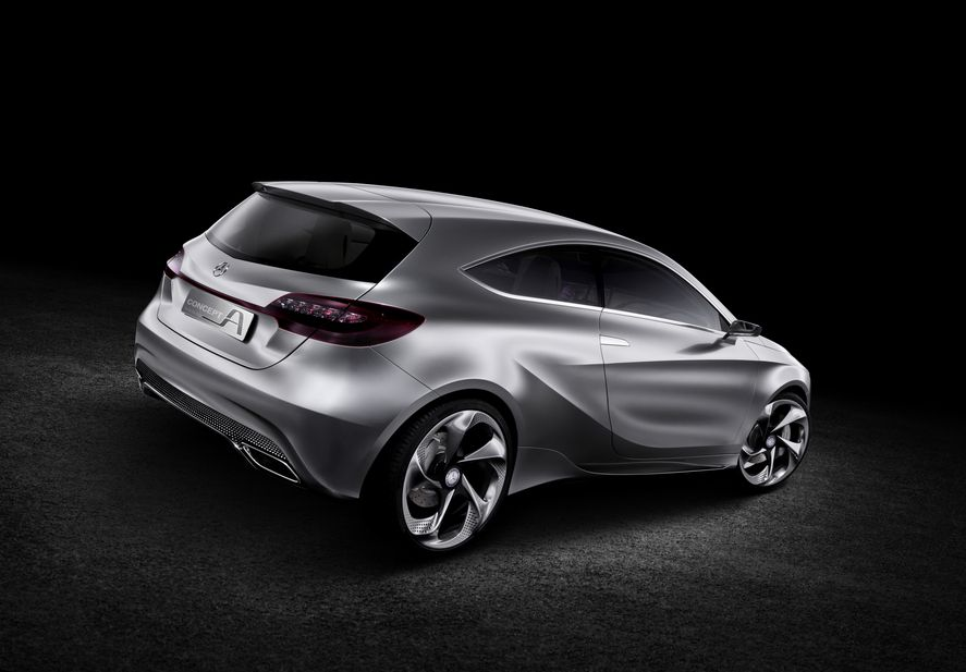 Mercedes Benz A Class Has Not Been Revealed But By The