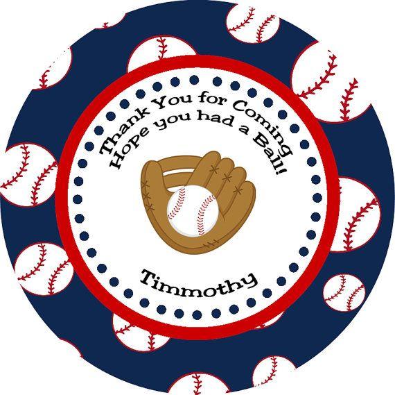 image regarding Free Printable Baseball Tags titled Baseball Tag, Customized Like Tag, Thank Your self Tag, Get together