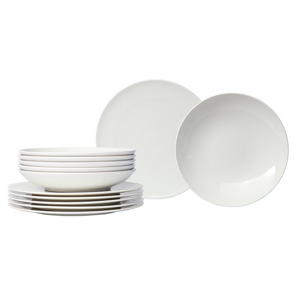 Vivo Basic by Villeroy u0026 Boch 12-pc. Buffet Dinnerware Set White  sc 1 st  Pinterest & Vivo Basic by Villeroy u0026 Boch 12-pc. Buffet Dinnerware Set White ...