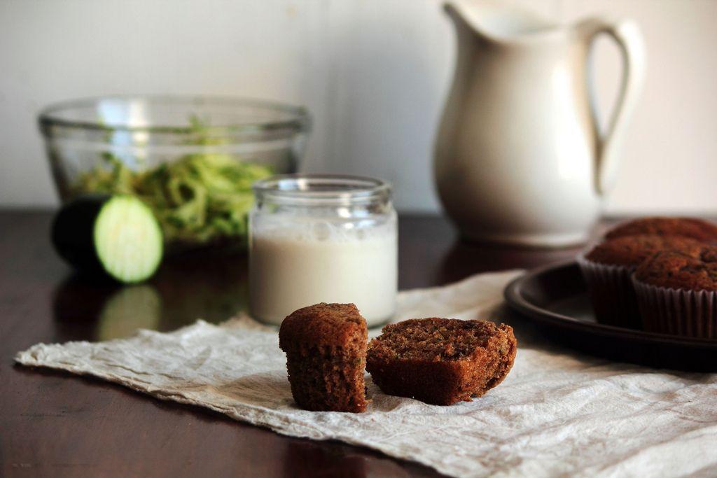 Zucchini Chocolate ChipMuffins - Home - Pastry Affair