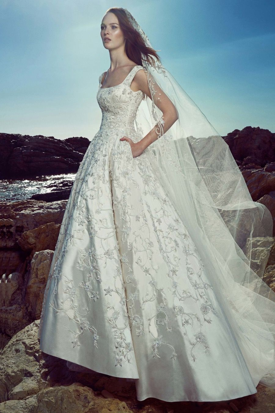Zuhair Murad Spring Summer 2017 Bridal Collection Designer Wedding Dress Gown Available