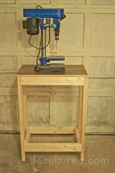 Benchtop Tool Table With Drill Press Tables Drill