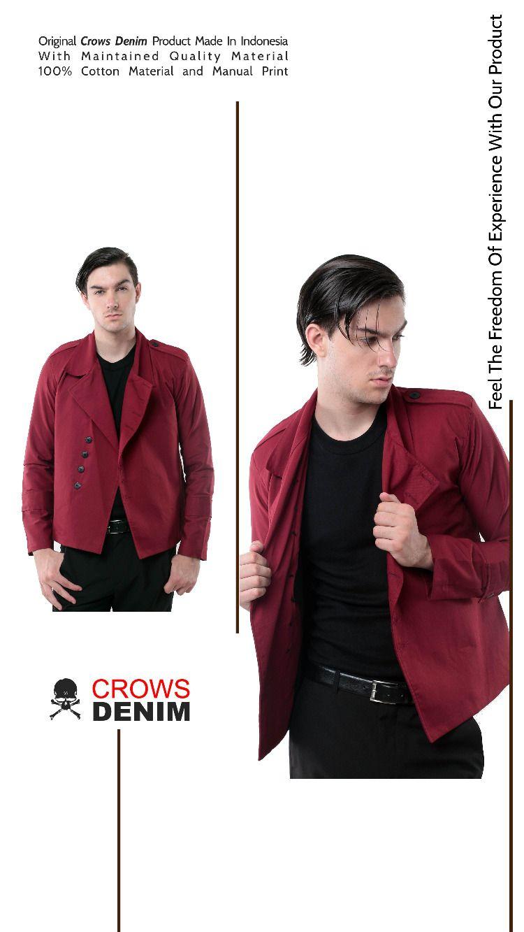 Red Korean Style Jacket di 2020 | Blazer, Berat badan