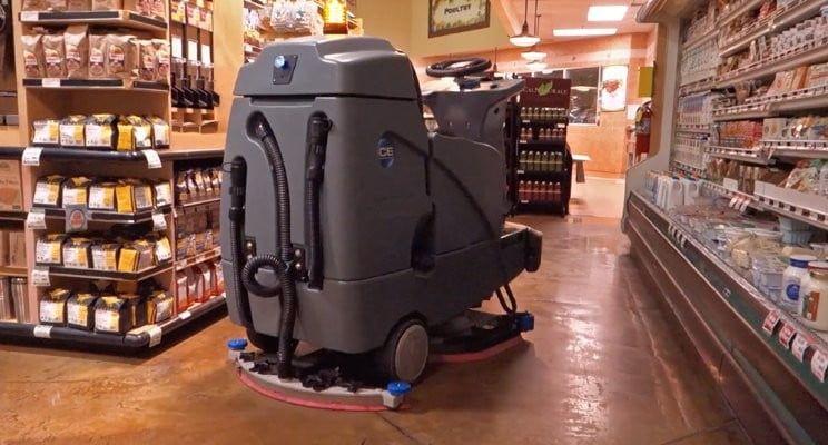Walmart Tests a SelfDriving FloorCleaning Robot