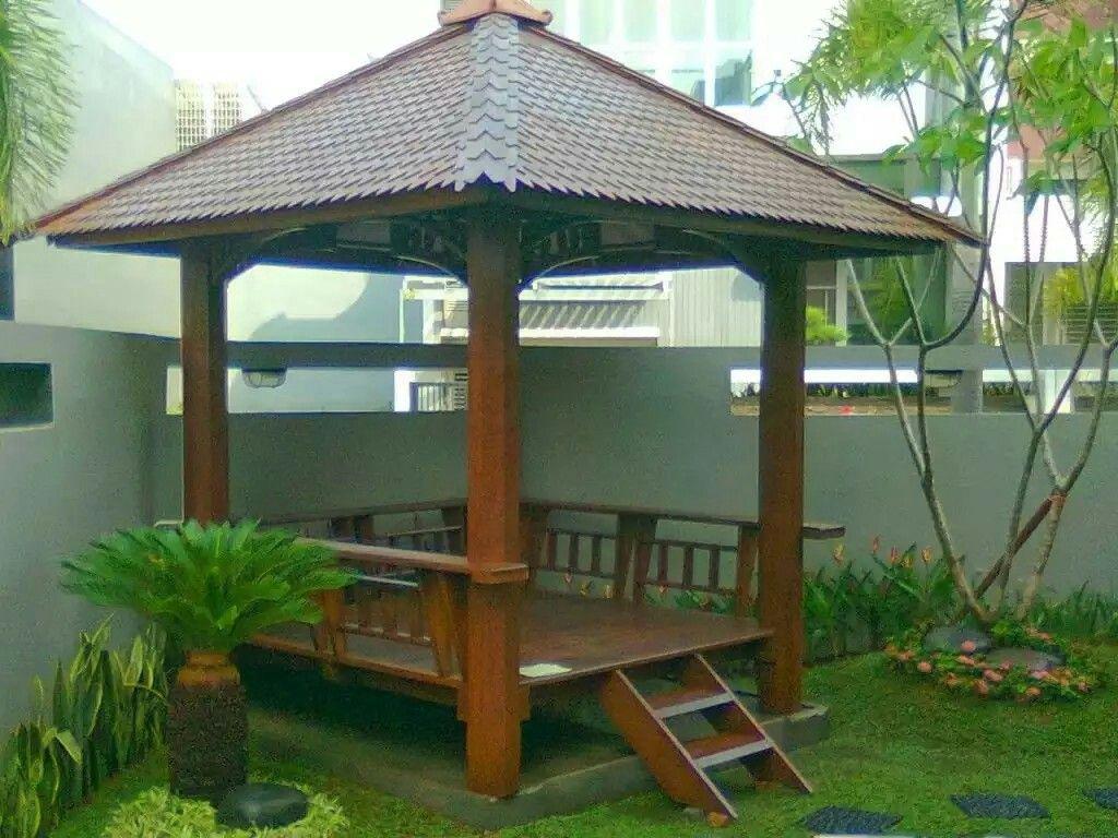 Pin By Rikha Dewi On Gazebo Gazebo Backyard Gazebo Garden Seating