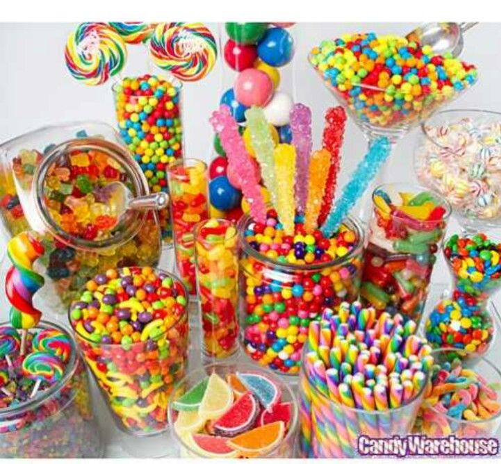Colorful buffet example