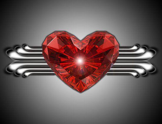 Crystal Heart by fantasytripp