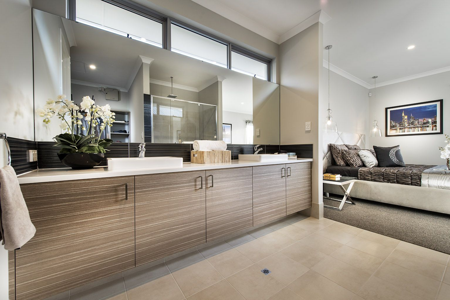 Beautiful Bathrooms Perth the rockwell © ben trager homes | perth display home | master