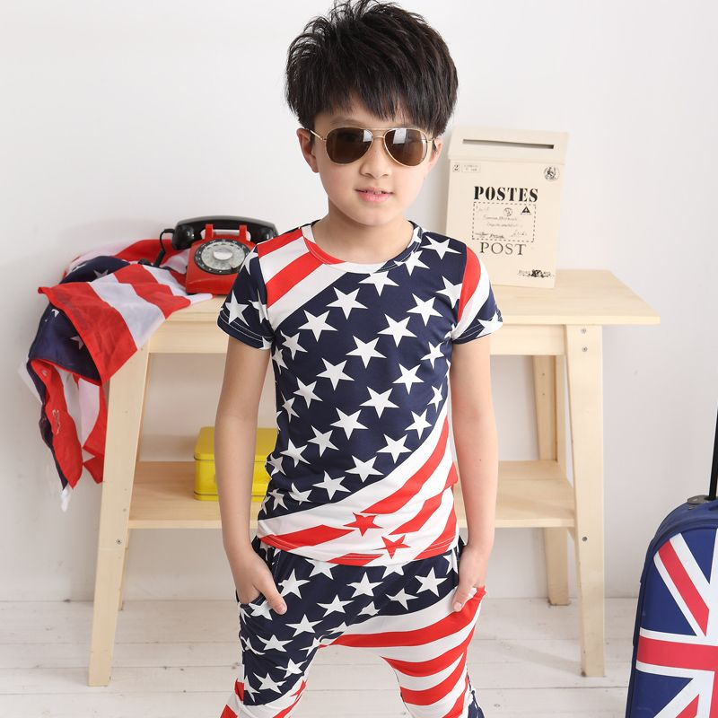 d50850f1 Fourth 4th of july clothing USA American flag Patriotic Outfits for ...