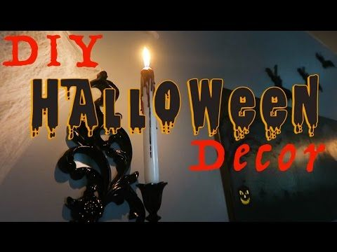 60 Amazing DIY Halloween Decorations For Your Home Part 1 | Home Decorating Ideas - YouTube