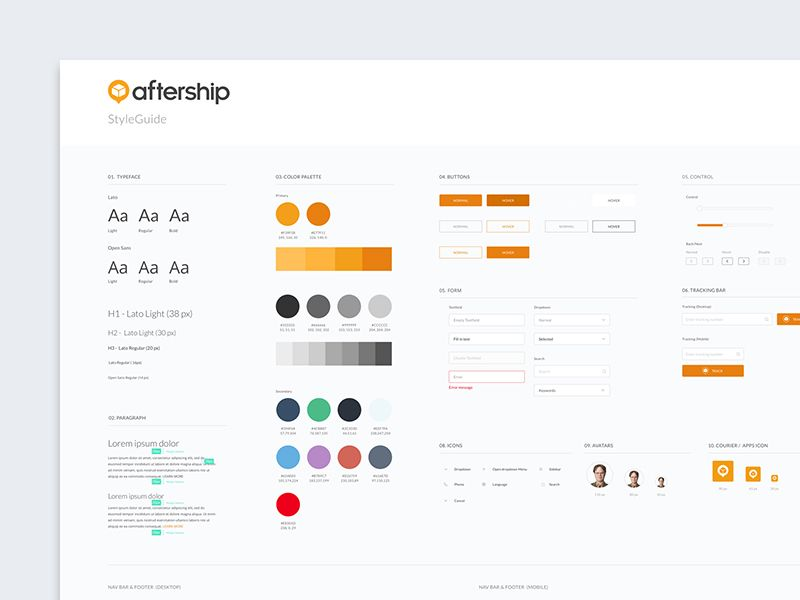 Pin on UI Style Guide