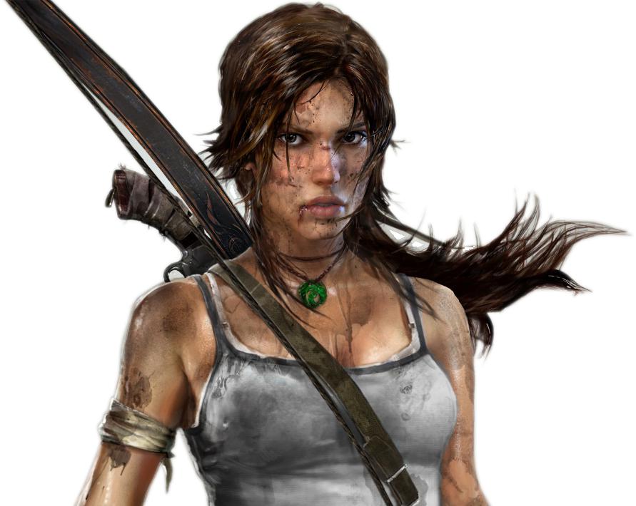 Lara Croft Tomb Raider With Bow Tomb Raider 2012 Tomb Raider Game Tomb Raider Reboot
