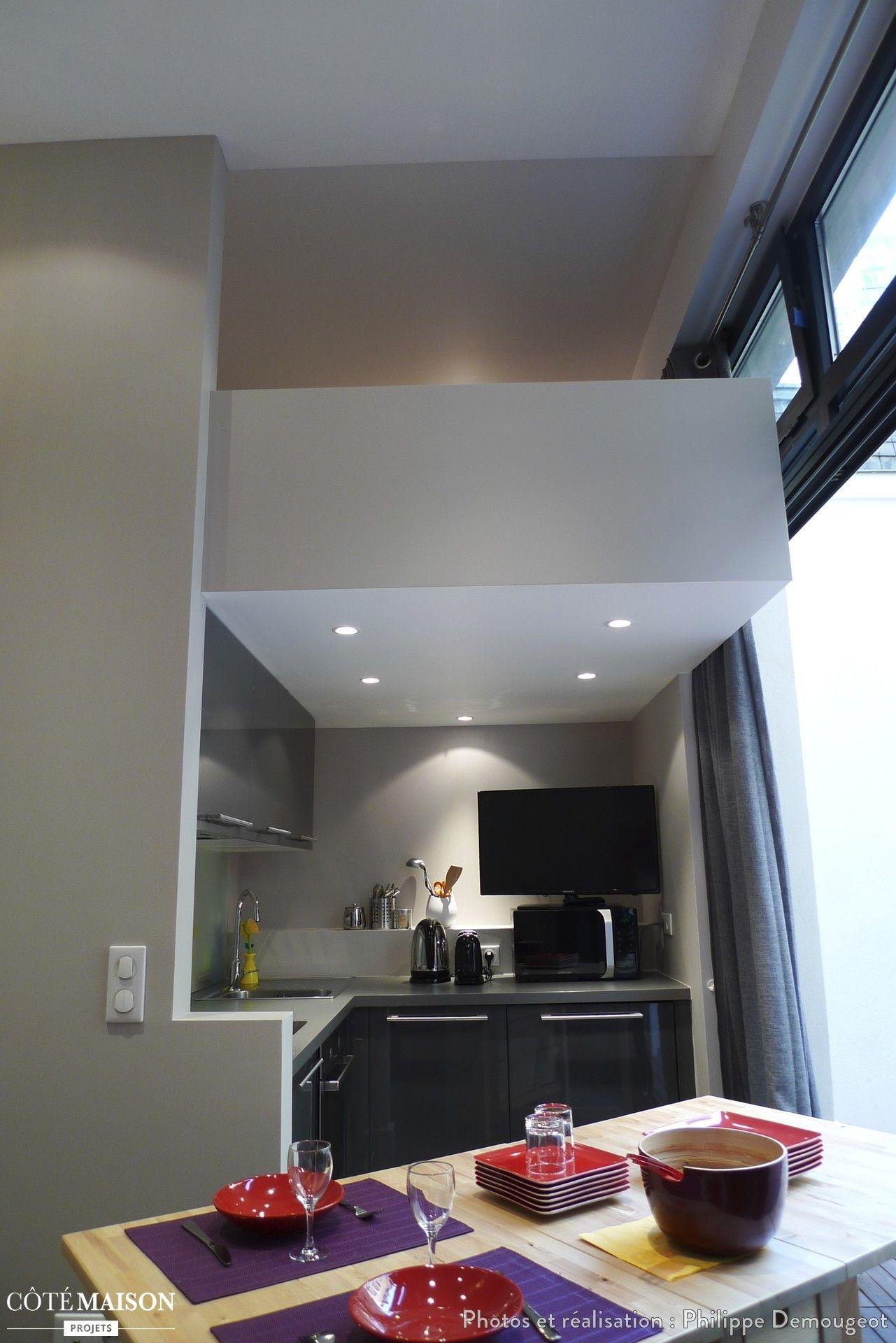 L optimisation d une petite surface paris philippe demougeot architecte id es pour la - Architecte d interieur paris petite surface ...