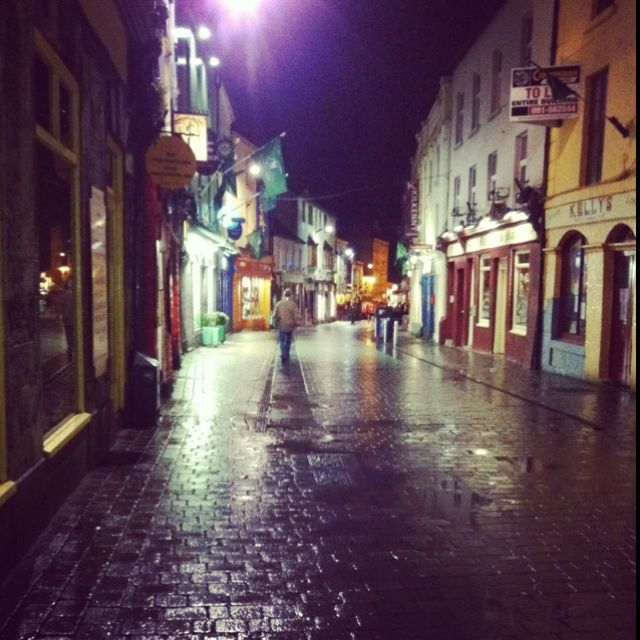 A rainy night in Galway..who would have thought I'd miss it