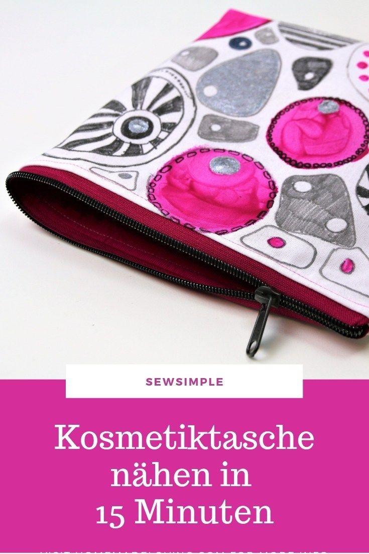 Photo of Im Handumdrehen: Kosmetiktasche nähen in 15 Minuten