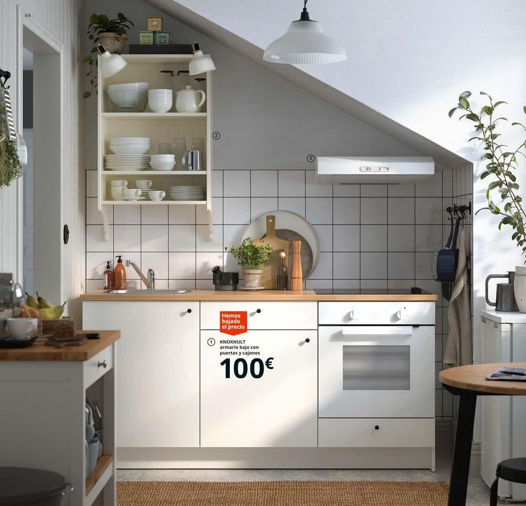 Cocinas Ikea 2020 Todas Las Imagenes Y Precios Brico Y Deco Small Apartment Kitchen Simple Kitchen Design Cuisine Ikea