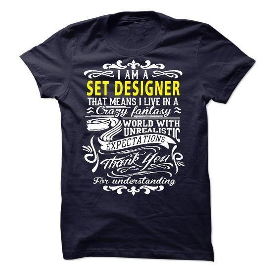 I am a Set Designer T Shirts, Hoodies Sweatshirts. Check price ==► http://store.customtshirts.xyz/go.php?u=https://www.sunfrog.com/LifeStyle/I-am-a-Set-Designer-19435480-Guys.html?41382