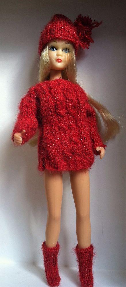 Red Metallic Cozy Sweater Plus Dawn / Pippa #Dawn