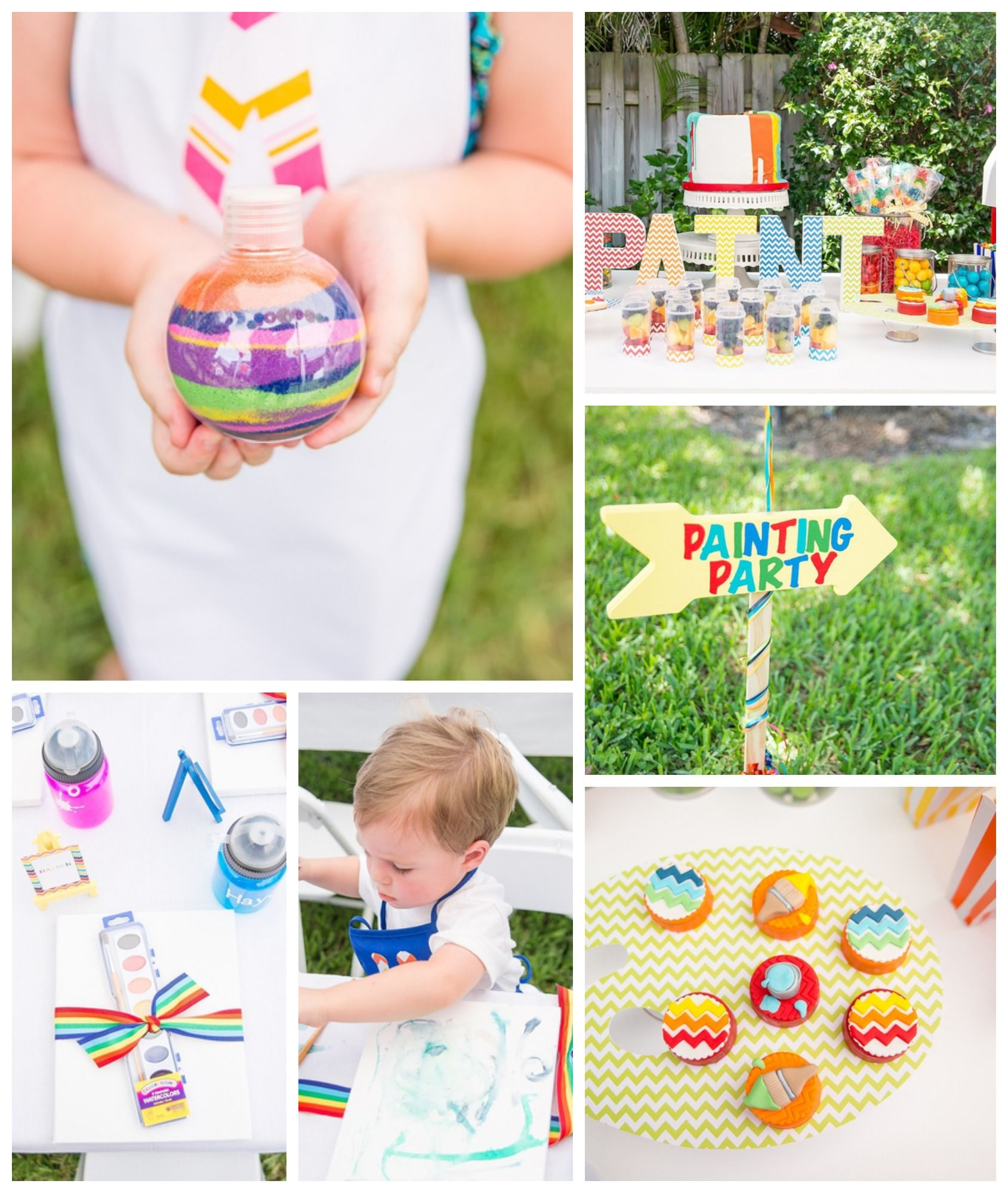 Arts and crafts party ideas - Arts Crafts Is A Great Party Theme For A Boy Birthday Fun Birthday Cake
