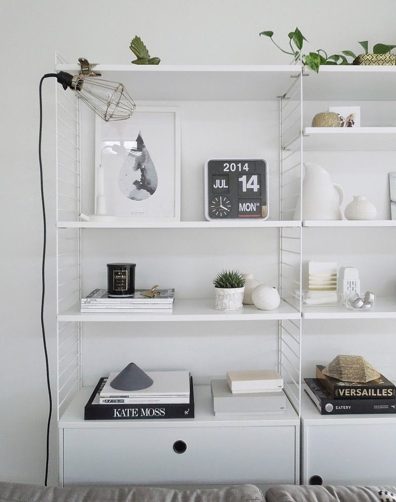 String Regal Vitrine Pin On Home Inspiration