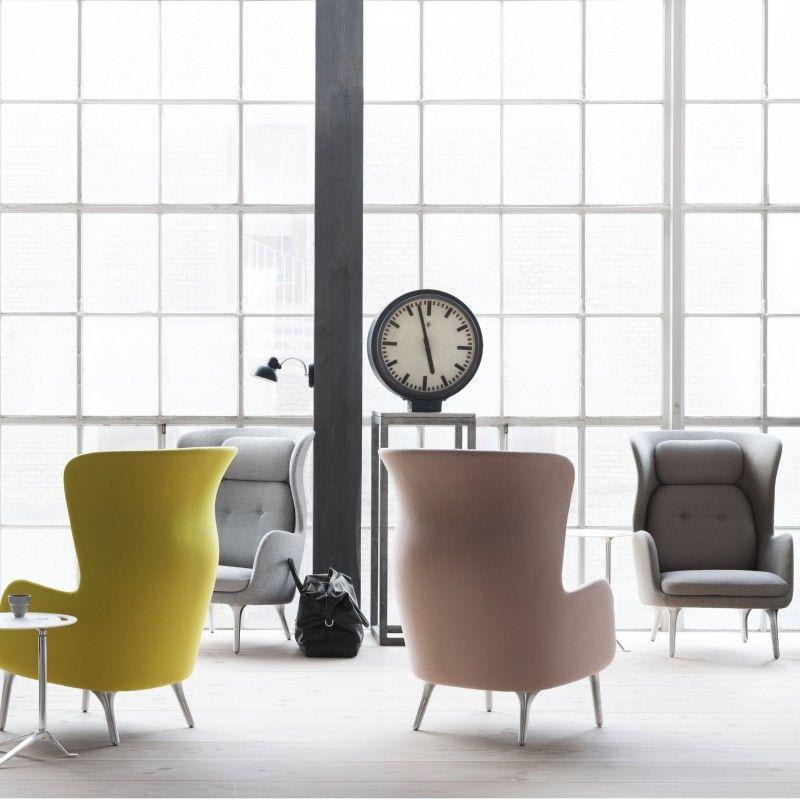 Ro Lounge Sessel Von Fritz Hansen. Ein Ohrensessel Macht Furore! 2013  Vorgestellt Warten