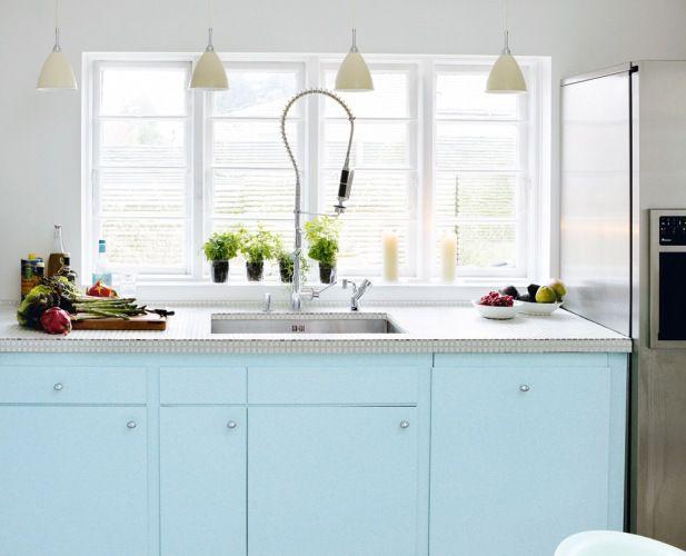Interieur Ice Blauw : Gastronomisk drømmekøkken pastels pinterest